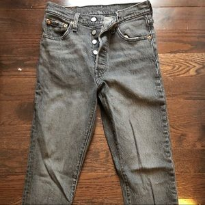 Levi's Jeans Washed Grey Size 25